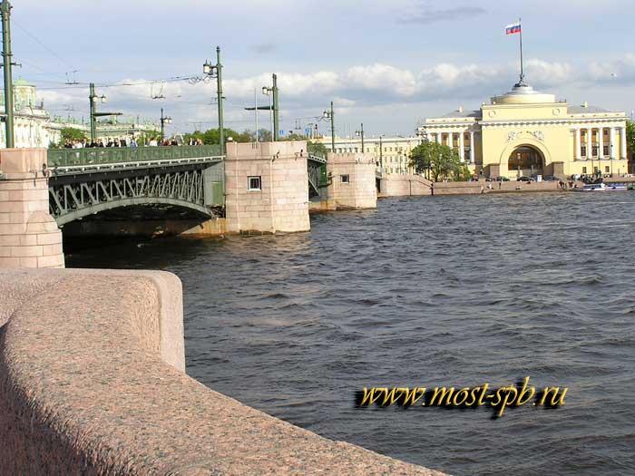 Дворцовый мост и адмиралтейство
