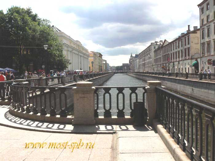 Мосты санкт петербурга итальянский