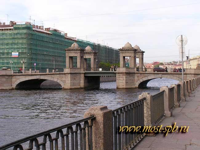 Длина моста 57 1 метра ширина 14 7 метра